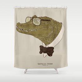 Spectacle(d) Caiman Shower Curtain
