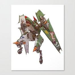 JetHead Warhawk (No Text) Canvas Print