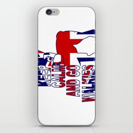 Keep Calm and Go Walkies Two iPhone Skin