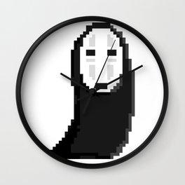 Kaonashiカオナシ (no face) pixel Wall Clock
