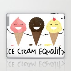 Ice cream Equality (reloaded) Laptop & iPad Skin