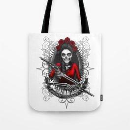 Santa Muerte 2 Tote Bag