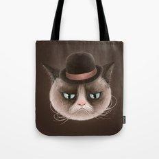 Sad cat Tote Bag