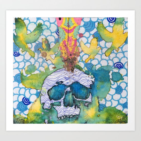 Expansion of the Mind Art Print