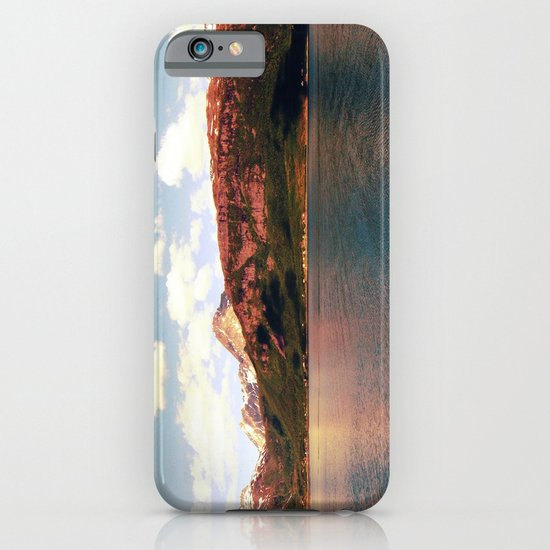 fjord landscape panorama, norway iPhone & iPod Case