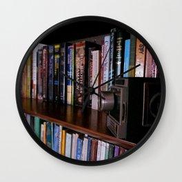 CHARLOTTE'S BOOKSHELF 2 Wall Clock