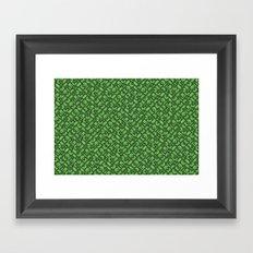 Control Your Game - Tradewinds Grass Framed Art Print