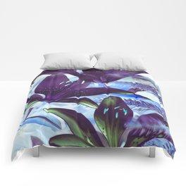 Moonlight Lillies Comforters