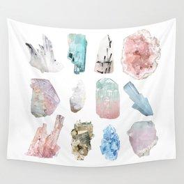 Crystals Wall Tapestry