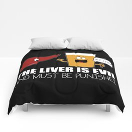 The Liver Is Evil and Must Be Punished Comforters