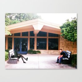 Yukari Yukino & Aidan Hails (Garden of words) St.petersburg FL Canvas Print
