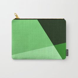 Four shades of green. Carry-All Pouch