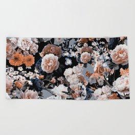 Natural Flowers Beach Towel