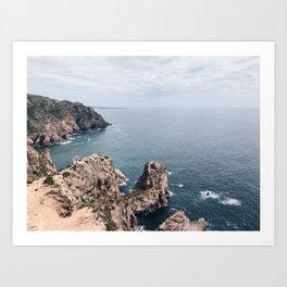CABO // Cabo da Roca, Portugal Art Print