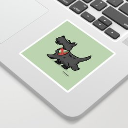 The Scottish Terrier Sticker