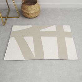 Neutral Abstract 3A Rug