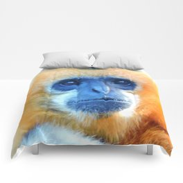 Mother gibbon Comforters