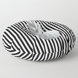 Black and White Anana | #society6 | Pineapple Floor Pillow