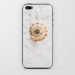SMALL SNAIL iPhone Skin