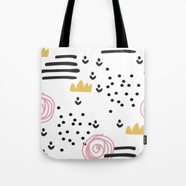 Abstract scandinvian art Tote Bag