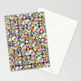 Circle Insanity Multicolored Stationery Cards