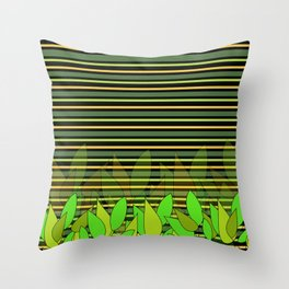 Fresh in nature Throw Pillow