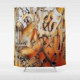 Reflection of life lived Shower Curtain