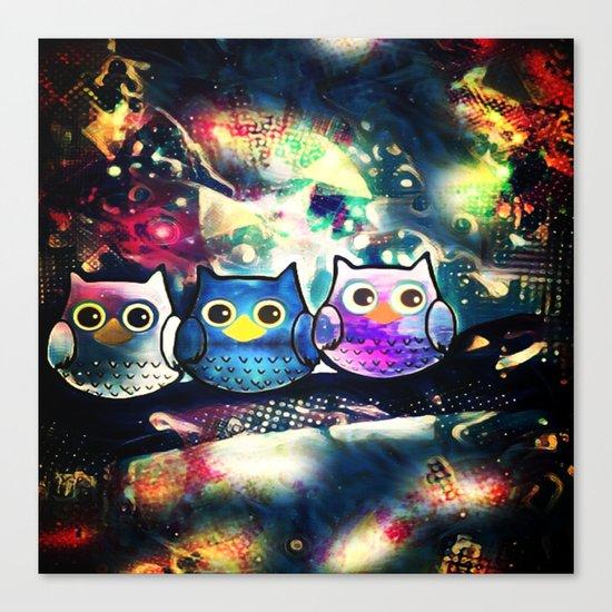 owl-89 Canvas Print