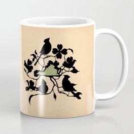 Virginia - State Papercut Print Coffee Mug