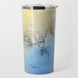 Serenity Prayer Pond Reflections Travel Mug