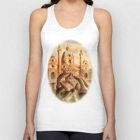 vienna Tank Tops featuring Karlskirche, Vienna, Austria by VargaMari