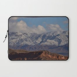 Desert Snow on Christmas - II Laptop Sleeve