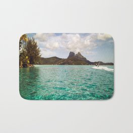 Bora Bora Tahiti, Take Me on a Jet Ski Bath Mat