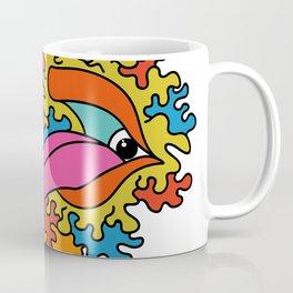 Psychedelic eye lick Coffee Mug