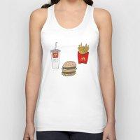 mac Tank Tops featuring Big Mac by Onvit Kwon