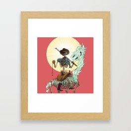 The Bone Ranger Framed Art Print