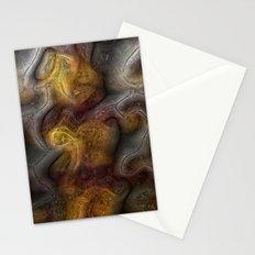 Organic digital background Stationery Cards