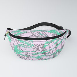 abstract 050 Fanny Pack