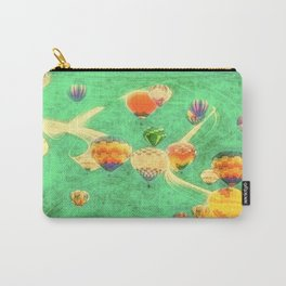 Balloon Love: up up and away Carry-All Pouch