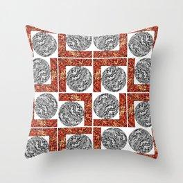 Maze of Mazes Throw Pillow