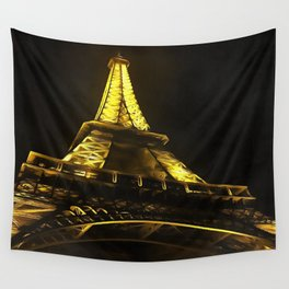 Eiffel Paris Wall Tapestry