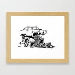 Henry J Framed Art Print