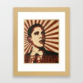 Hello Comrade! Framed Art Print