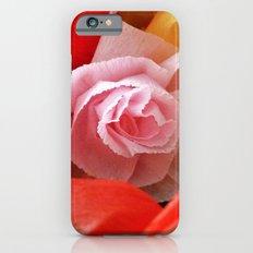 Paper handmade flowers iPhone 6s Slim Case