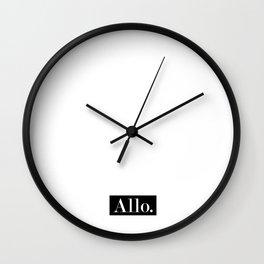 Allo. Wall Clock