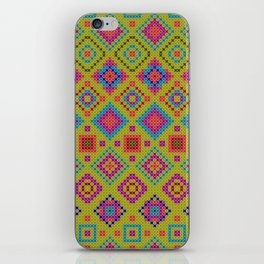 """and the x-dust says """"let's dance"""" iPhone Skin"""