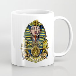 Egyptian Pharaoh Tutankhamun King Tut Coffee Mug