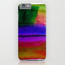 Meditations No.20i by Kathy Morton Stanion iPhone Case