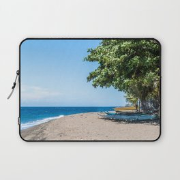 A Bend in the Beach Laptop Sleeve