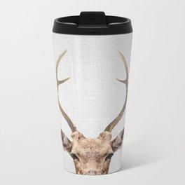 Deer - Colorful Metal Travel Mug